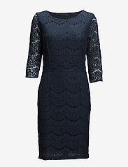Anastacia dress - BLACK IRIS