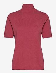 Lima roll neck knit - PINK LEMONADE