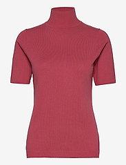 Lima roll neck knit - PINK LEMONADE MELANGE