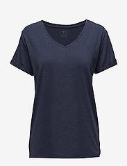 Minus - Adele tee - t-shirts - black iris - 0