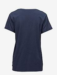 Minus - Adele tee - t-shirts - black iris - 1