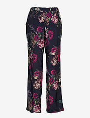 Minus - Evalina pants - straight leg trousers - midnight flower print - 1