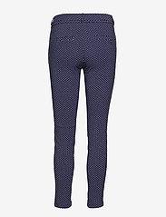 Minus - Carma dot pants 7/8 - broeken med skinny fit - black iris - 2