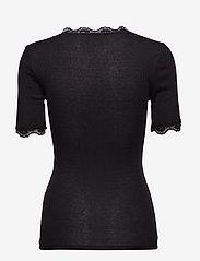 Minus - Ariel short sleeve - basic t-shirts - black - 2