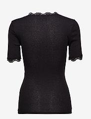 Minus - Ariel short sleeve - basic t-shirts - black - 3