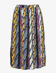 Minus - Kenzie skirt - midi skirts - patchwork print - 0