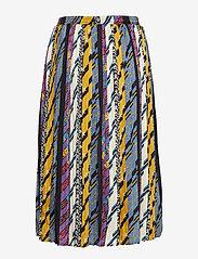 Minus - Kenzie skirt - midi skirts - patchwork print - 1