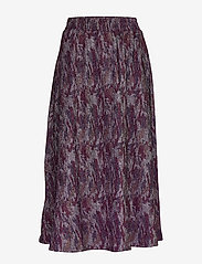 Minus - Carol skirt - maxi skirts - purple agat - 1