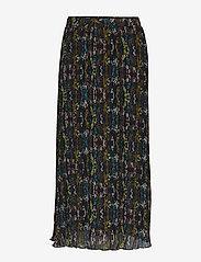 Minus - Cynthia skirt - maxi skirts - pleated flower print - 1