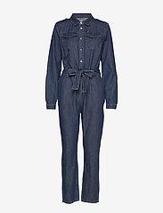 Minus - Larina denim jumpsuit - buksedragter - denim - 0