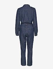 Minus - Larina denim jumpsuit - buksedragter - denim - 1