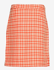 Minus - Nanja skirt - short skirts - chili checked - 1
