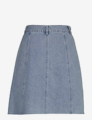 Minus - Lucca denim skirt - jupes en jeans - denim melange - 2