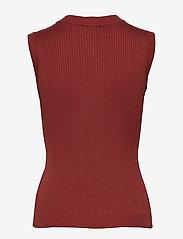Minus - Arina knit top - strikkede toppe - safran - 1