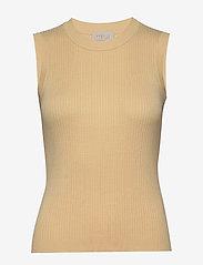 Arina knit top - VANILLA