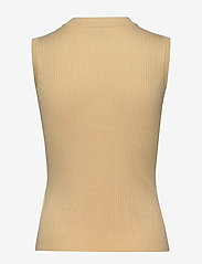 Minus - Arina knit top - strikkede toppe - vanilla - 1