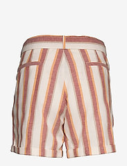 Minus - Mickie shorts - casual shortsit - mineral red stripes - 1