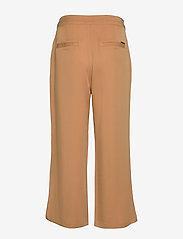 Minus - Emissa pants culotte - bukser med brede ben - almond - 1