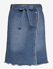 Minus - Sherine denim skirt - denim skirts - denim - 0