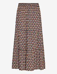 Minus - Mili skirt - maxi skirts - graphic shapes black iris print - 0