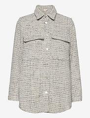 Minus - Valeria jacket - overshirts - powder blue checked - 0