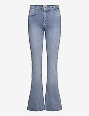 Minus - New enzo jeans - schlaghosen - light denim - 0