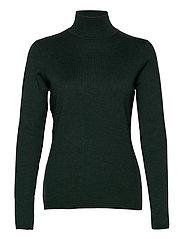 Lana roll neck knit - GREEN GABLES MELANGE