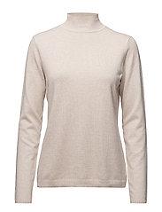 Lana roll neck knit - STRING MELANGE