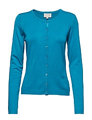 New Laura cardigan - AQUA BLUE