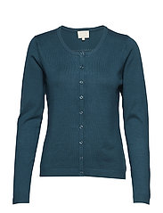 New Laura cardigan - FIR GREEN MELANGE