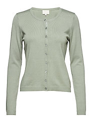 New Laura cardigan - MOSS GREEN