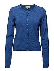 New Laura cardigan - STRONG BLUE MELANGE