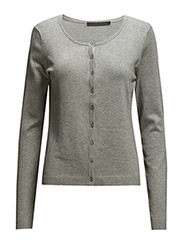 New Laura cardigan - LIGHT GREY MELANGE