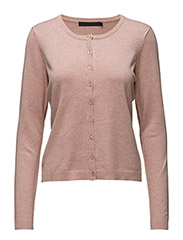 New Laura cardigan - ROSE MELANGE
