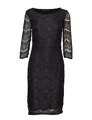 Anastacia dress - BLACK