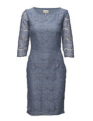 Anastacia dress - FADED DENIM
