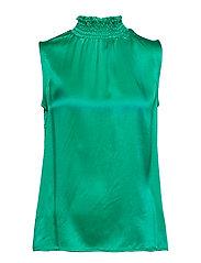 Ea silk blouse - GRASS GREEN