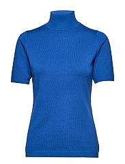 Lima roll neck knit - BLUE BAY