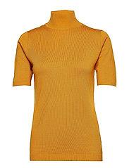 Lima roll neck knit - INKA GOLD