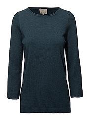Irene knit pullover - STARGAZER GREEN MELANGE