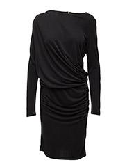 Kela dress black - BLACK