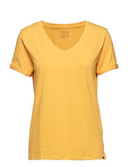Adele tee - GOLDEN YELLOW