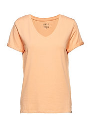 Adele tee - LIGHT PEACH
