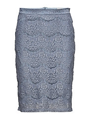 Anastacia skirt - FADED DENIM