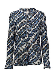 Rylee shirt - ZIG ZAG PRINT
