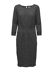 Holly dress - RAVEN GREY MELANGE