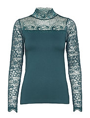 Vanessa blouse - FIR GREEN