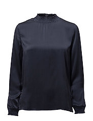 Ea ls blouse - BLACK IRIS