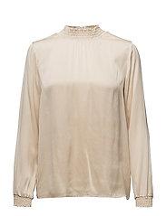 Ea ls blouse - NUDE SMOKE