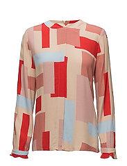 Bessie blouse - GRAPHIC PRINT